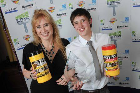 DDC Apprentice of the Year - Big Wipes proud sponsor