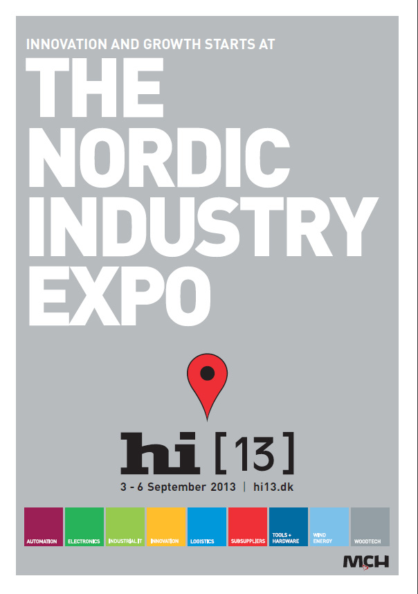 Herning Industry Expo - Great Danish Exhibition with Big Wipes Logo
