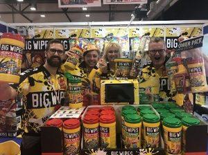 P&D Show 2019 - Painters & Decorators support Big Wipes
