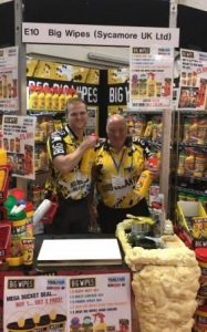 Elex Show Exeter Excitement with the Big Wipes team (2)