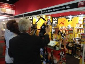 FIT Show 2014 - Big Wipes wiped their way into visitors' hearts