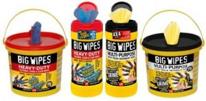 ITS Merchants blog Big Wipes 4x4 Range - Perfect 4x4 the trade!