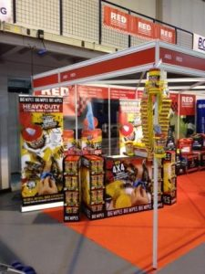 Professional Recovery Tow Show with the Big Wipes team Stand