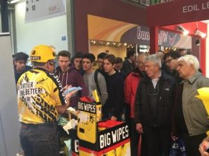 MADE in MILAN, move over Armani, Big Wipes are in town