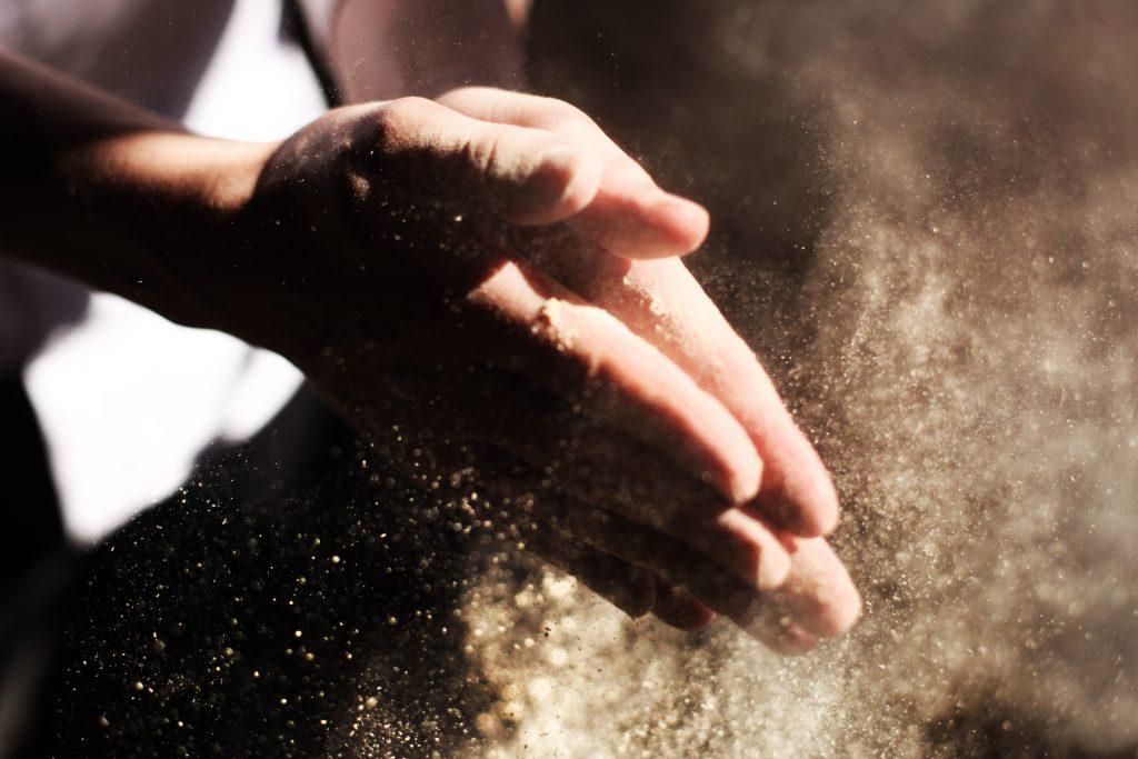Manual workers need antibacterial trade wipes