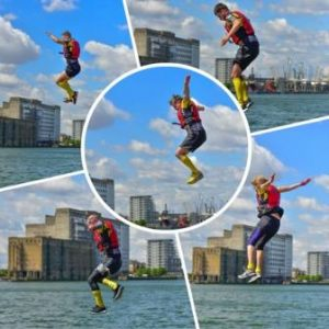 Rat Race flying Big Wipes team