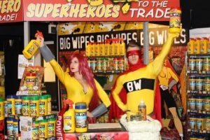 Big Wipes Superheroes in Coventry