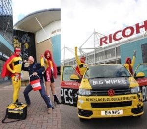 Big Wipes Superheroes in Coventry Charity