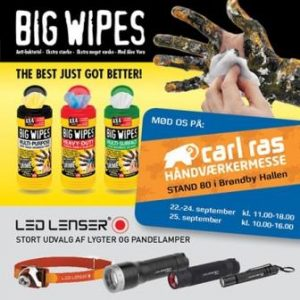Carl Ras Tradefair 2015 - Big Wipes and Great Danes