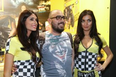 Big Wipes in Eicma 2015 Milan Ladies and Driver