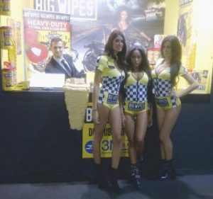 Big Wipes at Eicma 2015 Milan with Ladies front