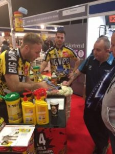 Painting and Decorating Show 2015 with Phil Taylor at stand