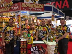 Painting and Decorating Show 2015 Big Wipes team