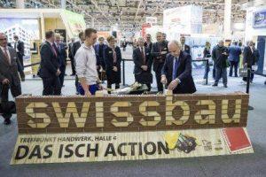 Swissbau 2016 - Big Wipes Exhibition