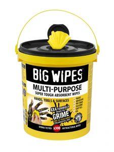 Big Wipes Multi Purpose wipes bucket