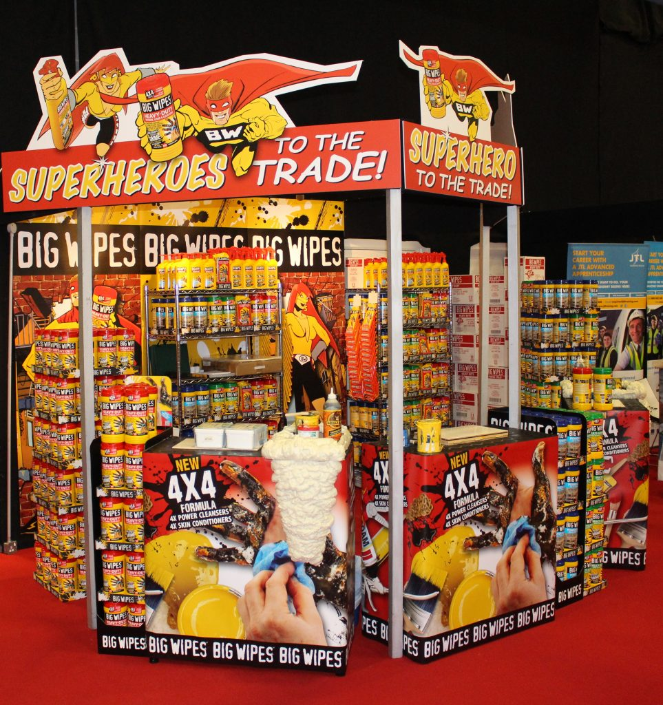 Toolfair elex big wipes stand