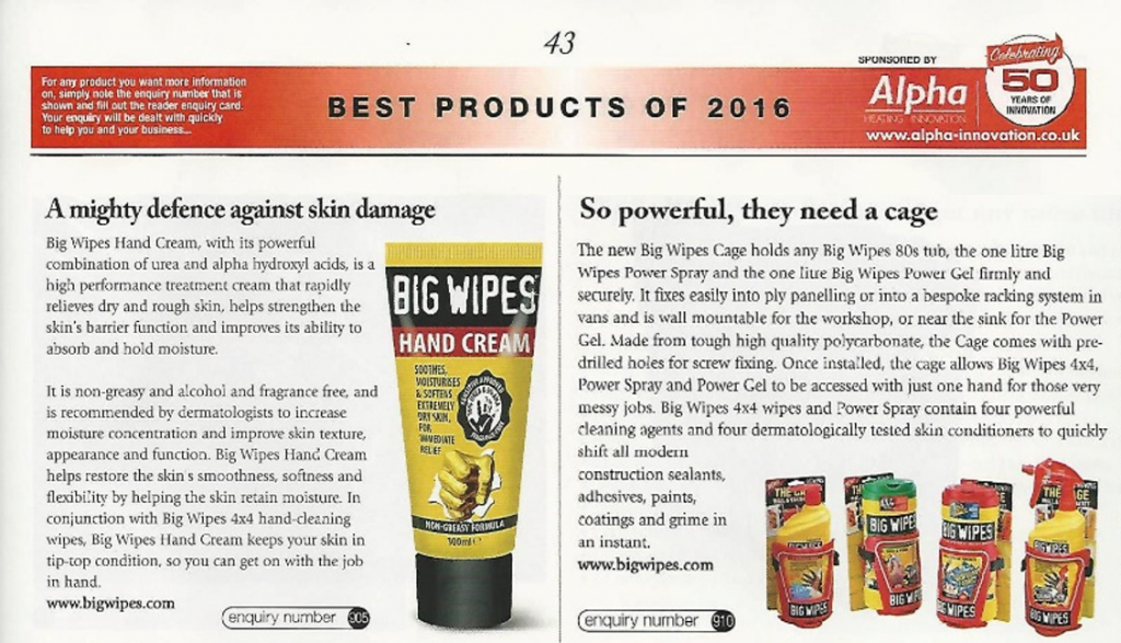 Best Products of 2016 The Cage Handcream