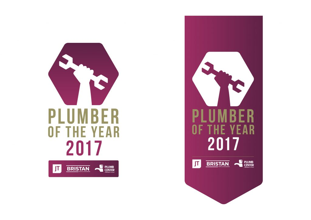 Plumber of the year 2017 logo