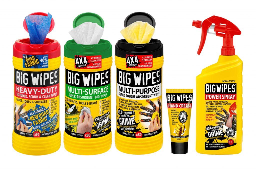Big Wipes trades wipes range