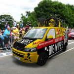 Tour de France with Big Wipes