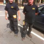 Are those 40s sachets Big Wipes in your pocket...