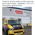 Eurocell loves Big Wipes!