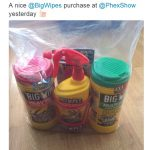 Big Wipes haul at Phex
