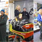 Paul Vasey and his VF Racing Grid Girls