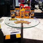 The table is set with Big Wipes