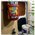 Big Wipes Van & Wall Bracket After image