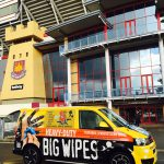 Big Wipes at Boleyn Stadium