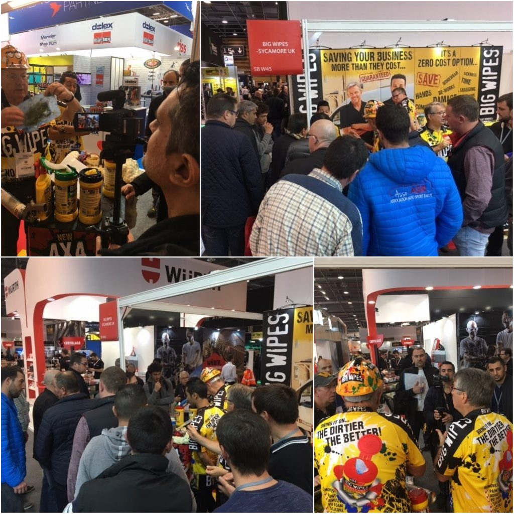 Big Wipes swamped with visitors at Batimat