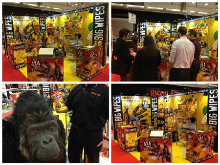 Totally DIY Show 2015 Big Wipes stand