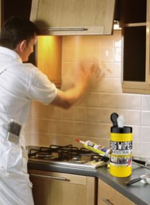Big Wipes Industrial New Power Fabric - Clean Tile