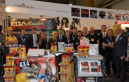 Portuguese Big Wipes Exhibition team
