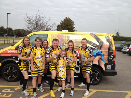 Maidenhead FundRun Big Wipes Team