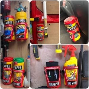 Big Wipes Cage Collage John Taylor