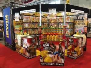 Toolfair Elex Harrogate Big Wipes Stand