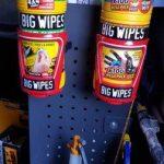 Big Geb's Big Wipes Cage