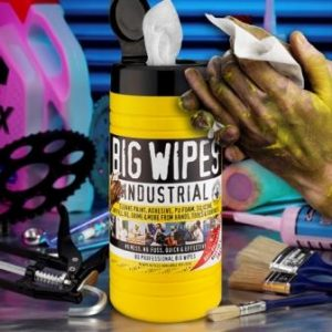 Big Wipes Industrial New Power Fabric - Cleaning Hands
