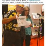 Big Wipes wins Best Small Stand