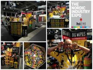 Herning Industry Expo - Great Danish Exhibition with Big Wipes stand