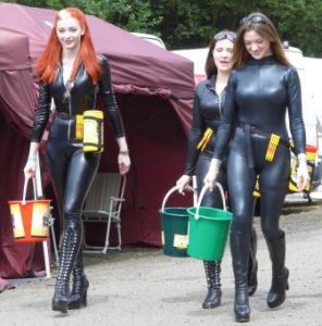 VF Racing Girls with Big Wipes holsters