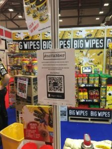 noVANber petition Big Wipes stand PD show