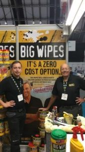 Housing 2018 - Big Wipes exhibit in Manchester