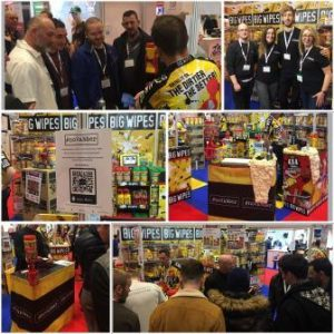 Painting and Decorating Show 2018 Big Wipes stand