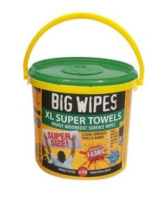 XL Multi-Surface wipes - wetter for longer