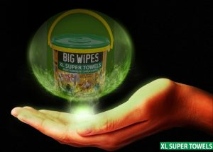 XL Multi-Surface wipes