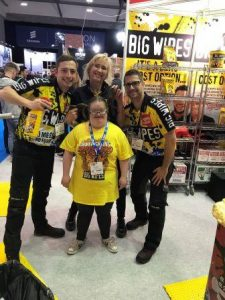 Installer Show 2019 sold out of Big Wipes
