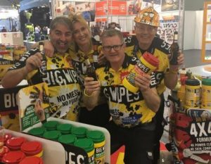 Big Wipes team adds colour
